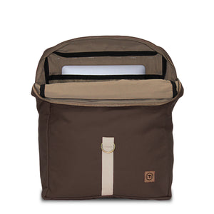 Coffee Brown Traveler Backpack
