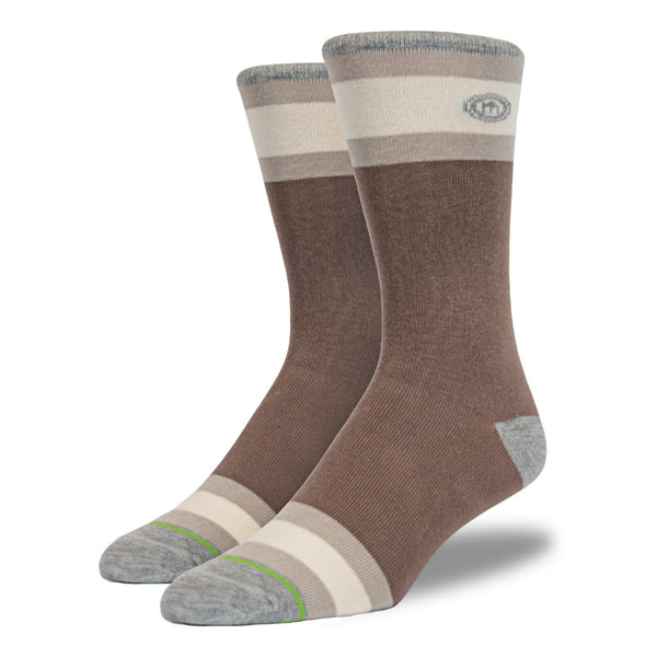 The Brown mens socks