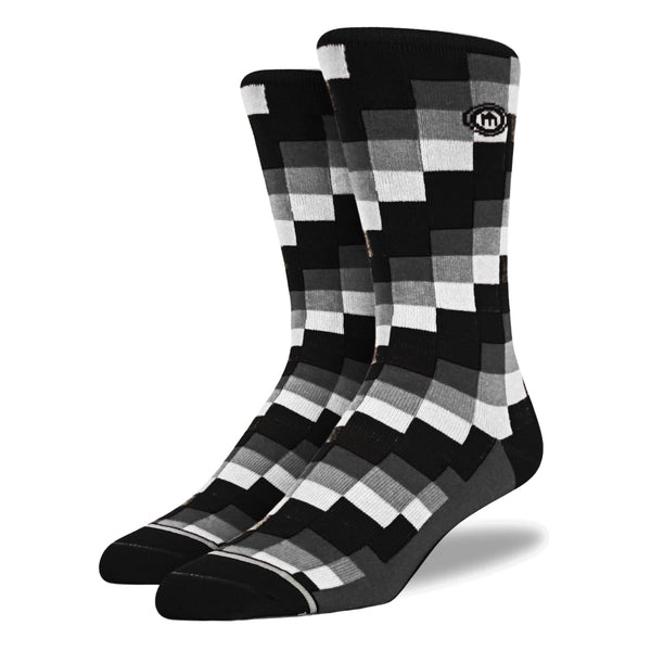 The Checkmate - Men's Digital Block Socks