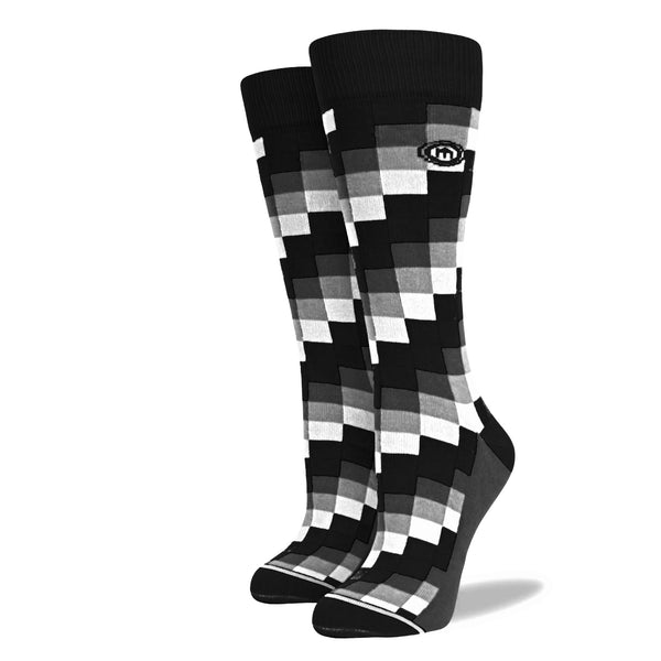 The Checkmate - Women's Digital Block Socks