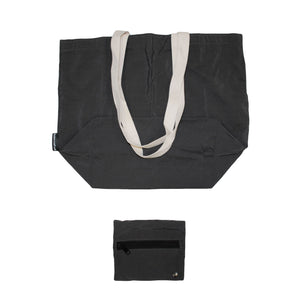 Dark Gray Traveler Tote
