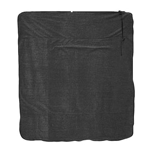Graphite Fleece Traveler Blanket