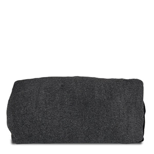 Graphite Fleece Traveler Pillow