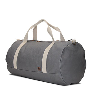 Light Gray Weekender Duffle Bag