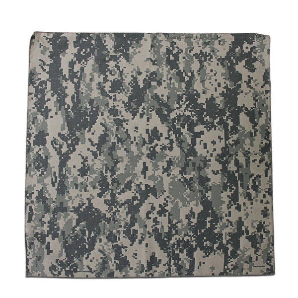 Green Digital Camouflage Bandana