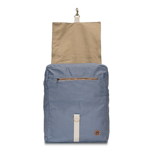 Light Blue Traveler Backpack