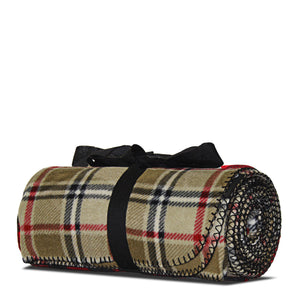 London Plaid Fleece Blanket