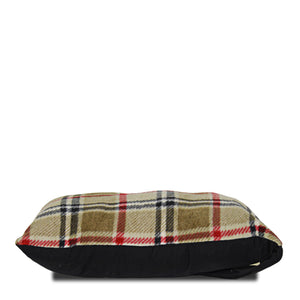 London Plaid Fleece Traveler Pillow