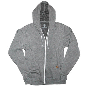 Heather Gray Vintage Hoodie - Unisex