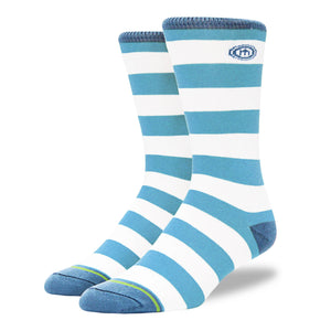 The APL - Men's Light Blue Striped Socks