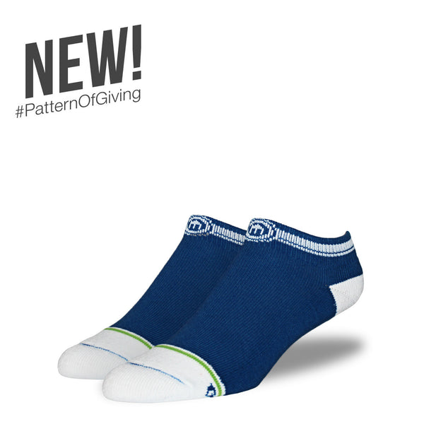 The Navy mens low cut socks