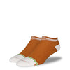 The Judd mens orange low cut socks