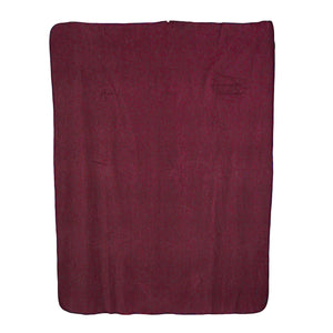 Plum Fleece Blanket