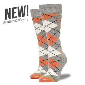 The Amanda - Women's Argyle Socks