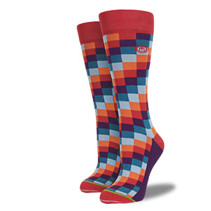 The Colton womens digital block socks