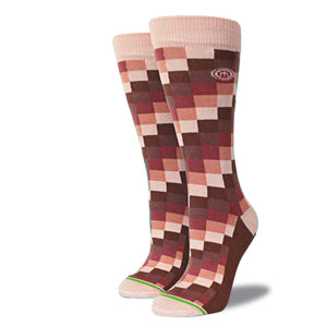 The Delaney womens digital block socks