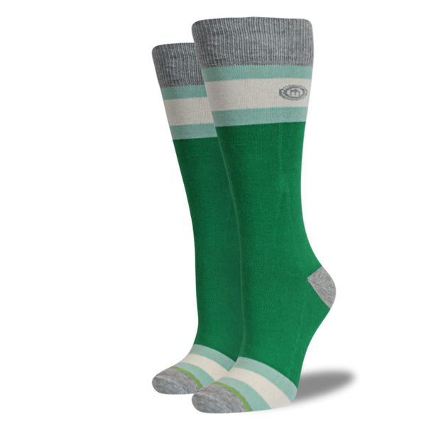The Green womens socks