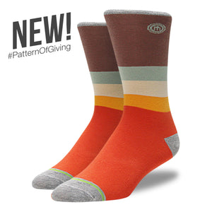 The Jerry - Men's Mod Striped Socks