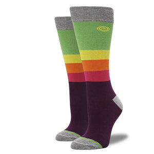 The Joy - Women's Rainbow Striped Socks