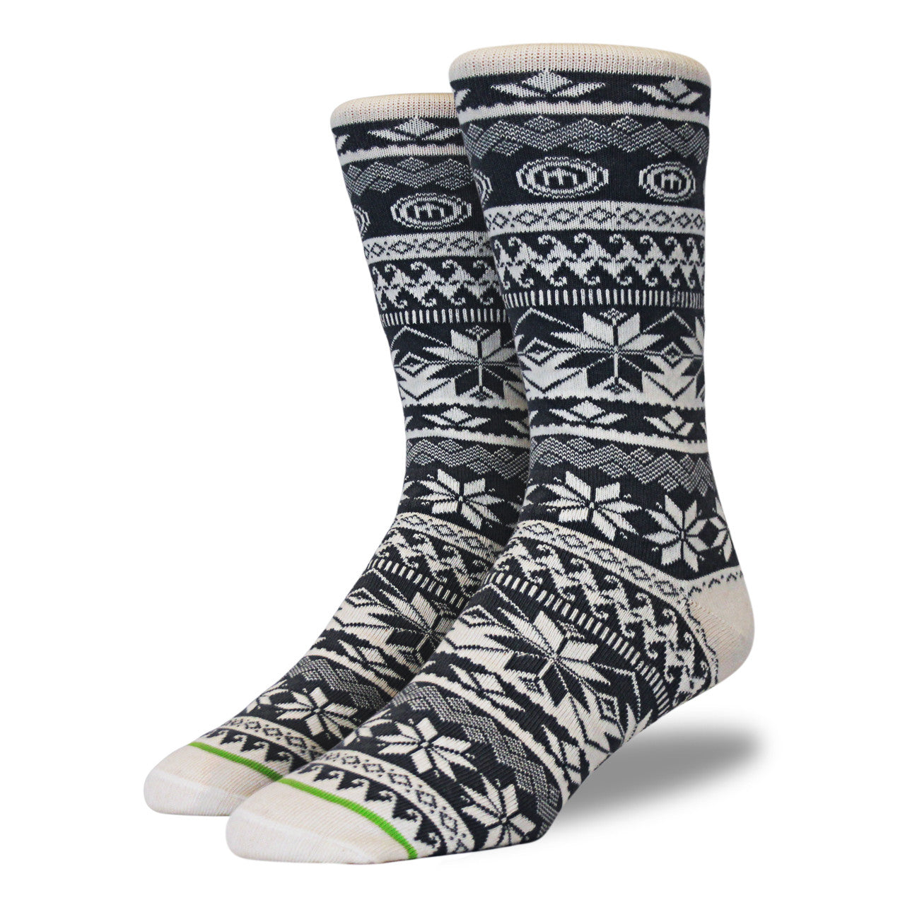 mitscoots outfitters the kelly mens snowflake socks