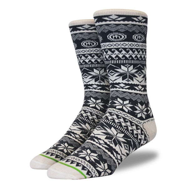 The Kelly mens snowflake socks