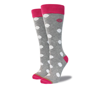 The Linda womens polkadot socks