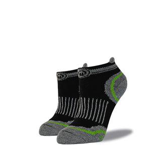 The Steve - Women's Black Low Cut Socks