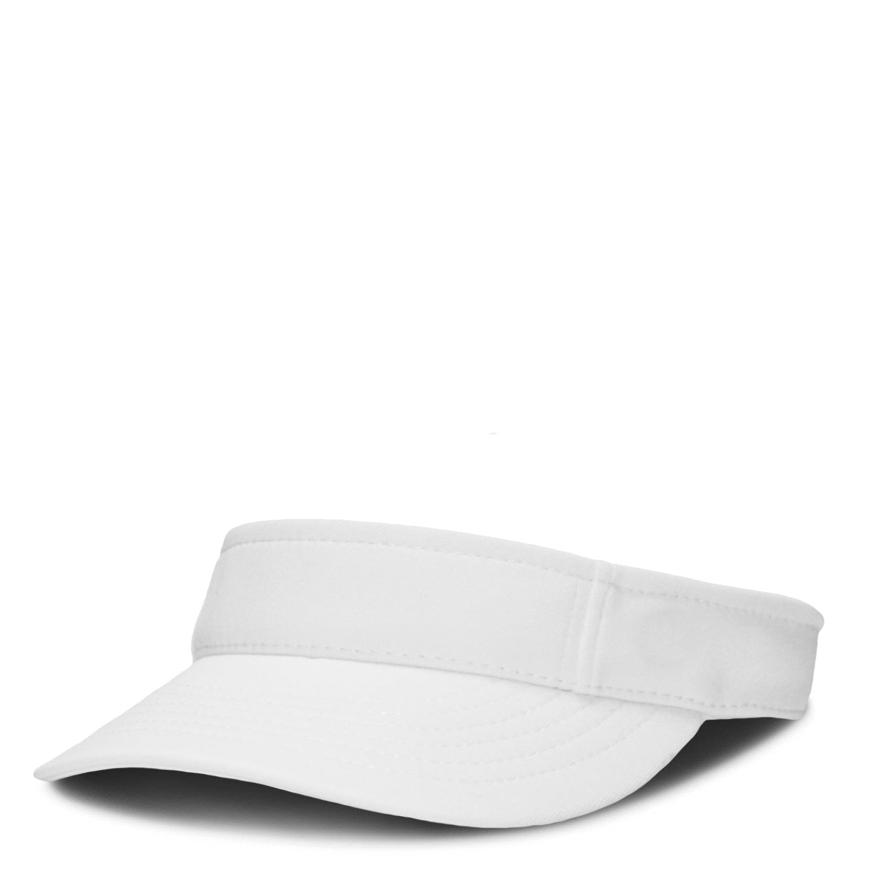 White Performance Visor - Mitscoots Outfitters 076b6be86e6