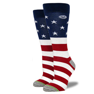 The Independence - Women's American Flag Socks