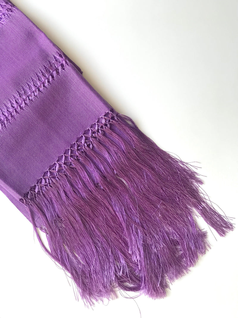 Purple rebozo