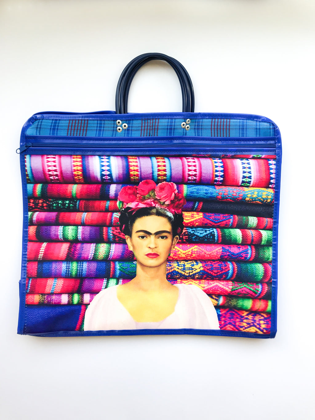 Market Frida blue bag