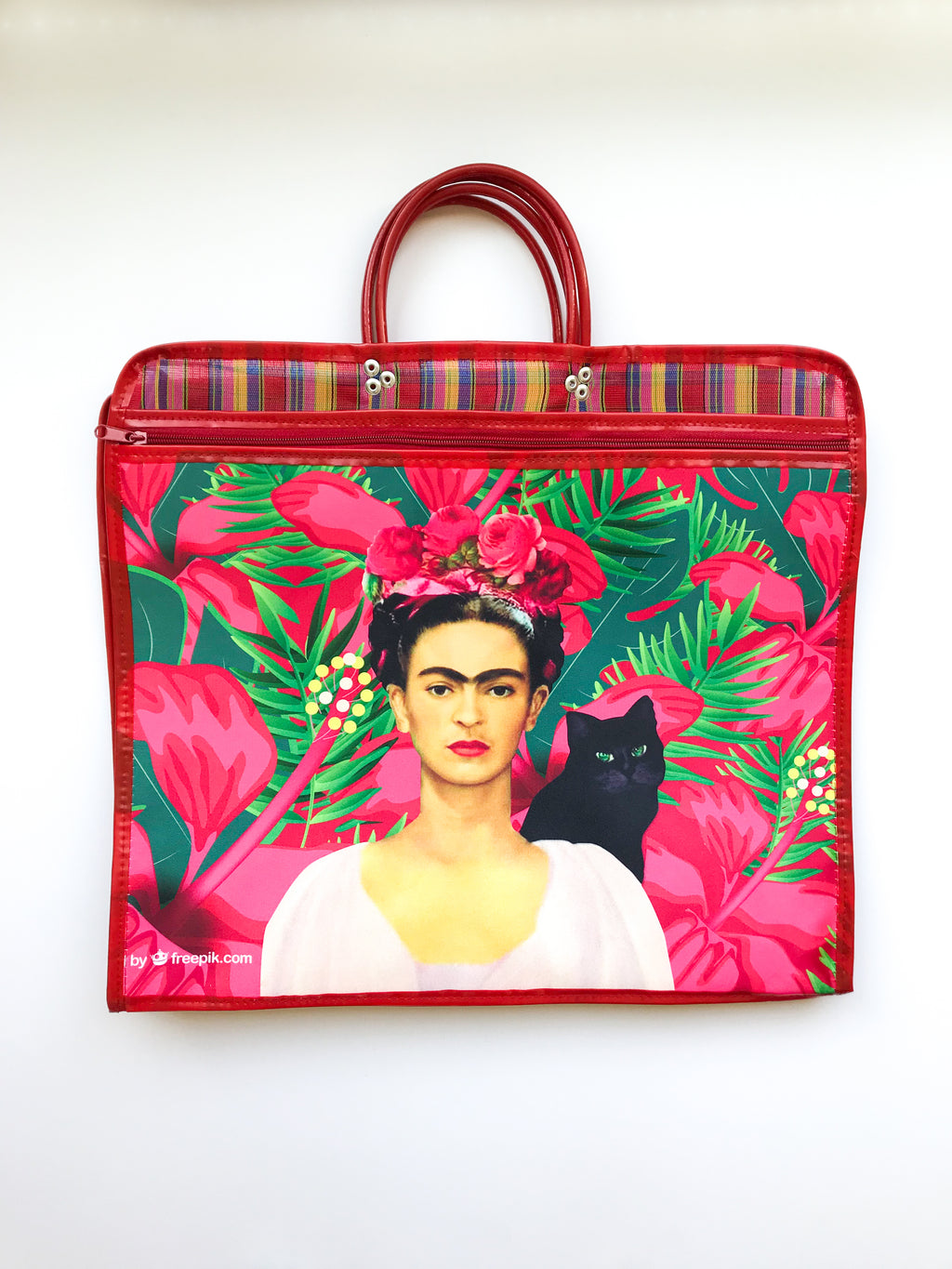 Market Frida red bag