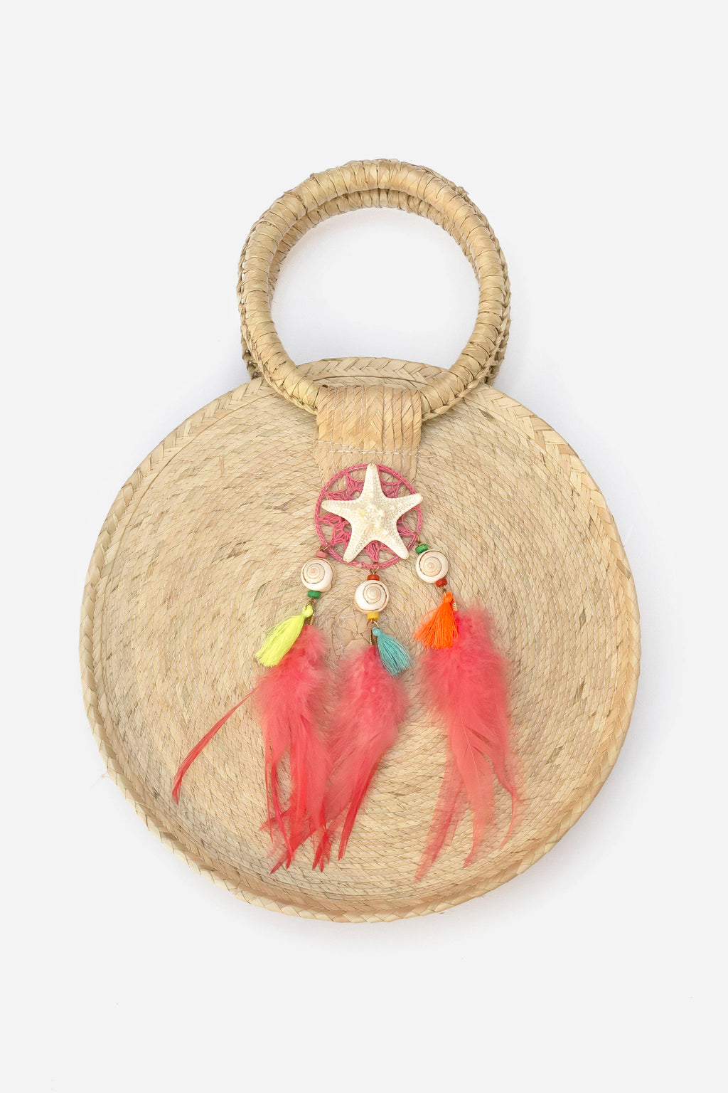 Bibiana small Round Palm bag