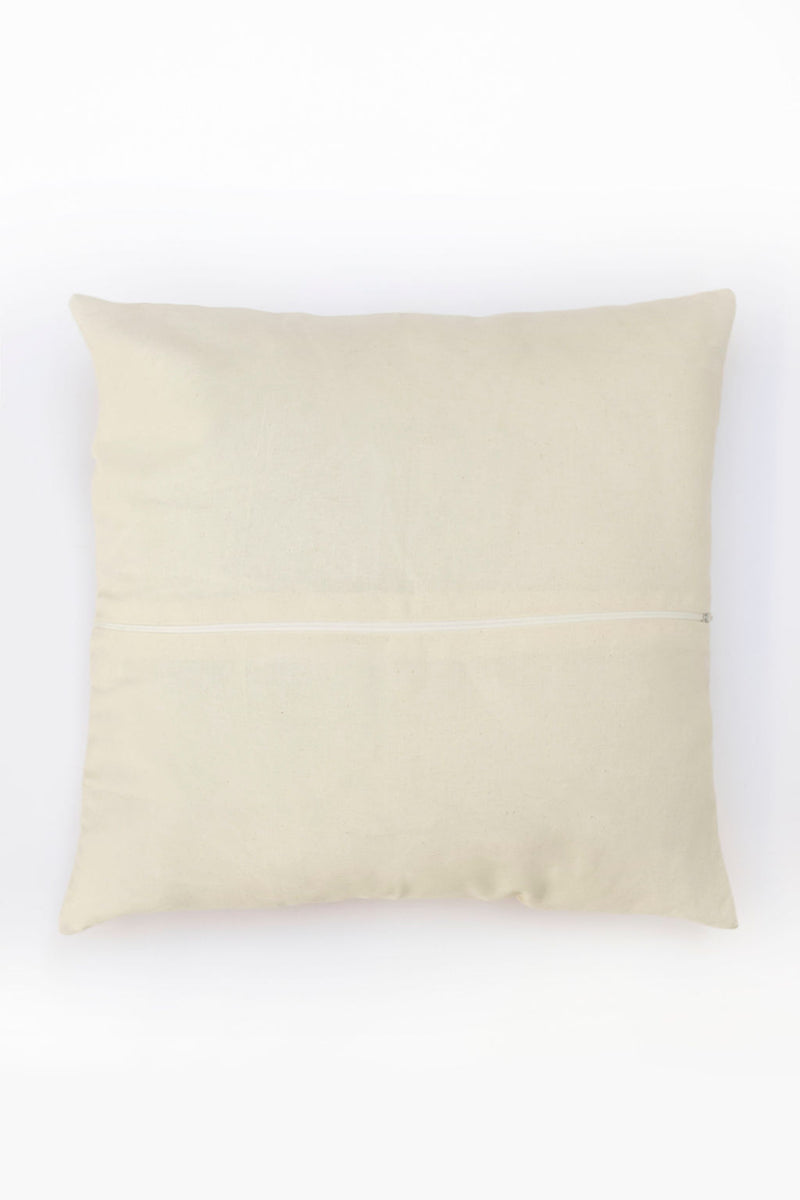 Gray Tenango Pillow