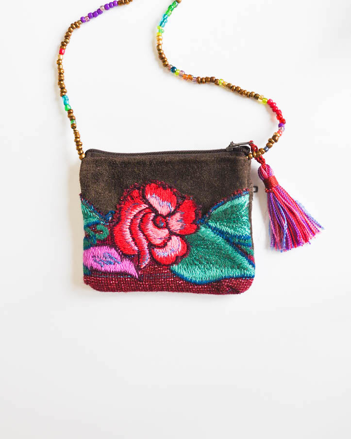 Crossbody Pouch Necklace