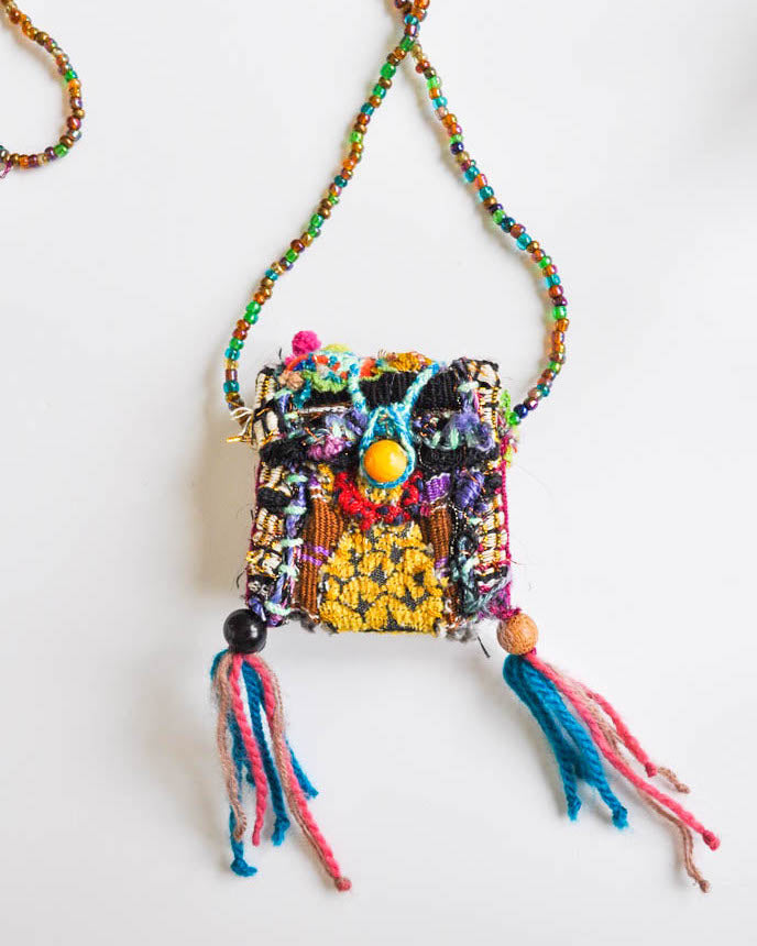 Boho Pouch Necklace