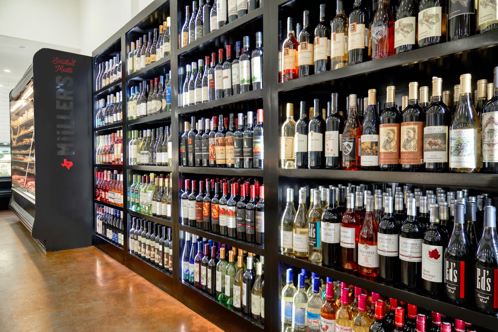 Large Beer & Wine Selections