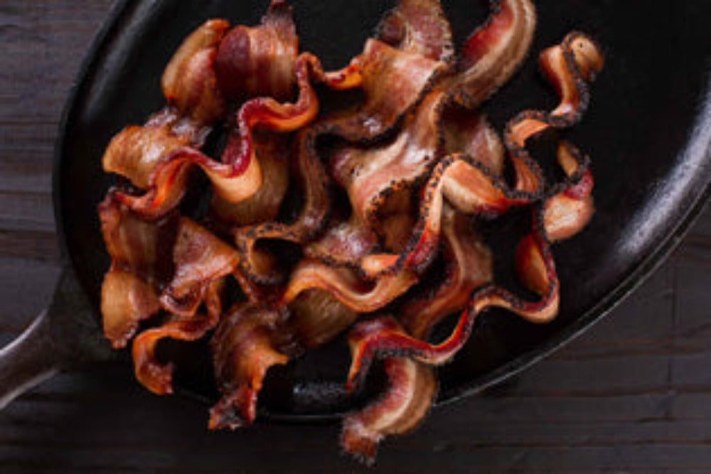 Hickory Smoked Peppered Bacon