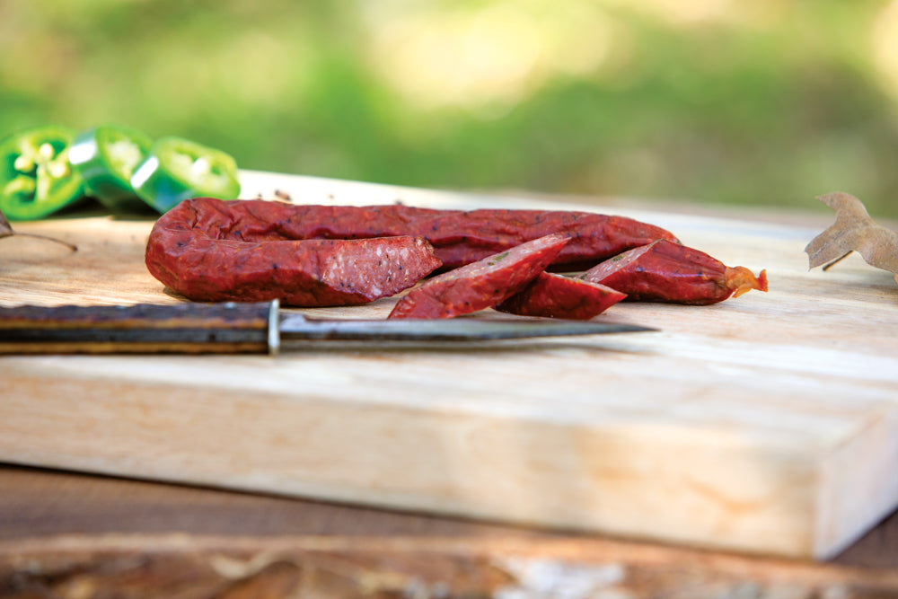 Beef & Pork Jalapeno Dried Sausage