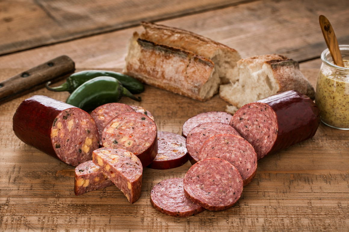 Beef & Pork Summer Sausage Variety Set