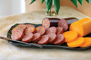 Pork & Beef Summer Sausage and Cheese Gift Set