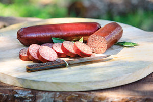 Venison & Pork Jalapeño & Cheese Summer Sausage