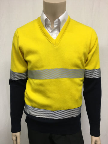 Calcoup Corporate 100% Wool OH&S Pullover - Clearance