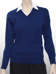 William Shaw Classic 80/20 Wool/Nylon Pullover - Sceggs Navy