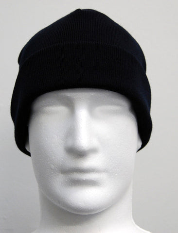 William Shaw Classics 80/20 Wool/Nylon Fold Back Beanie