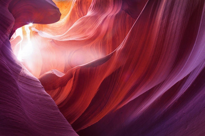 Antelope canyon in page arizona. By Lijah Hanley.
