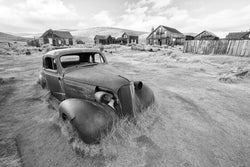 Car in Bodie California. By Lijah Hanley.