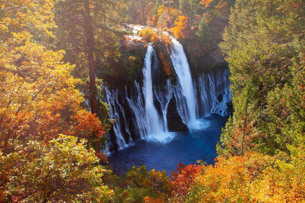 Burney Falls in the Autumn