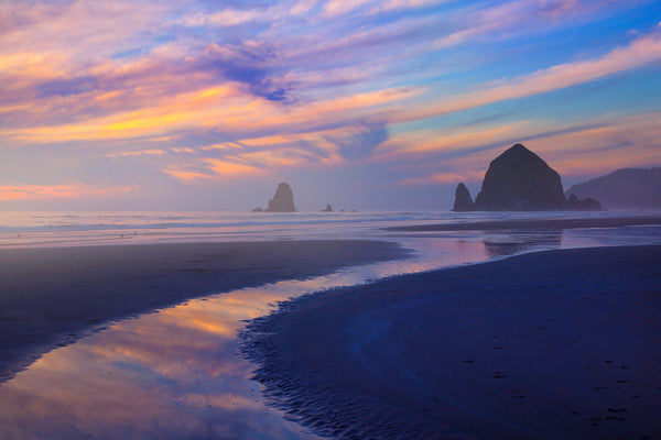Sunset at cannon beach. By LIjah Hanley.