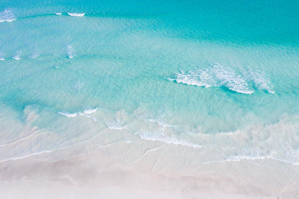 Turquoise waters at Wedge island in Australia